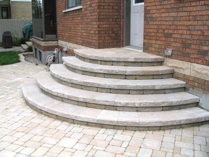 Exterieur d cor escalier for Pave decoration exterieur